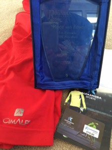 Thanks to CimAlp for the brilliant running clothes! Thanks to Alexandra Sports for their prize voucher!