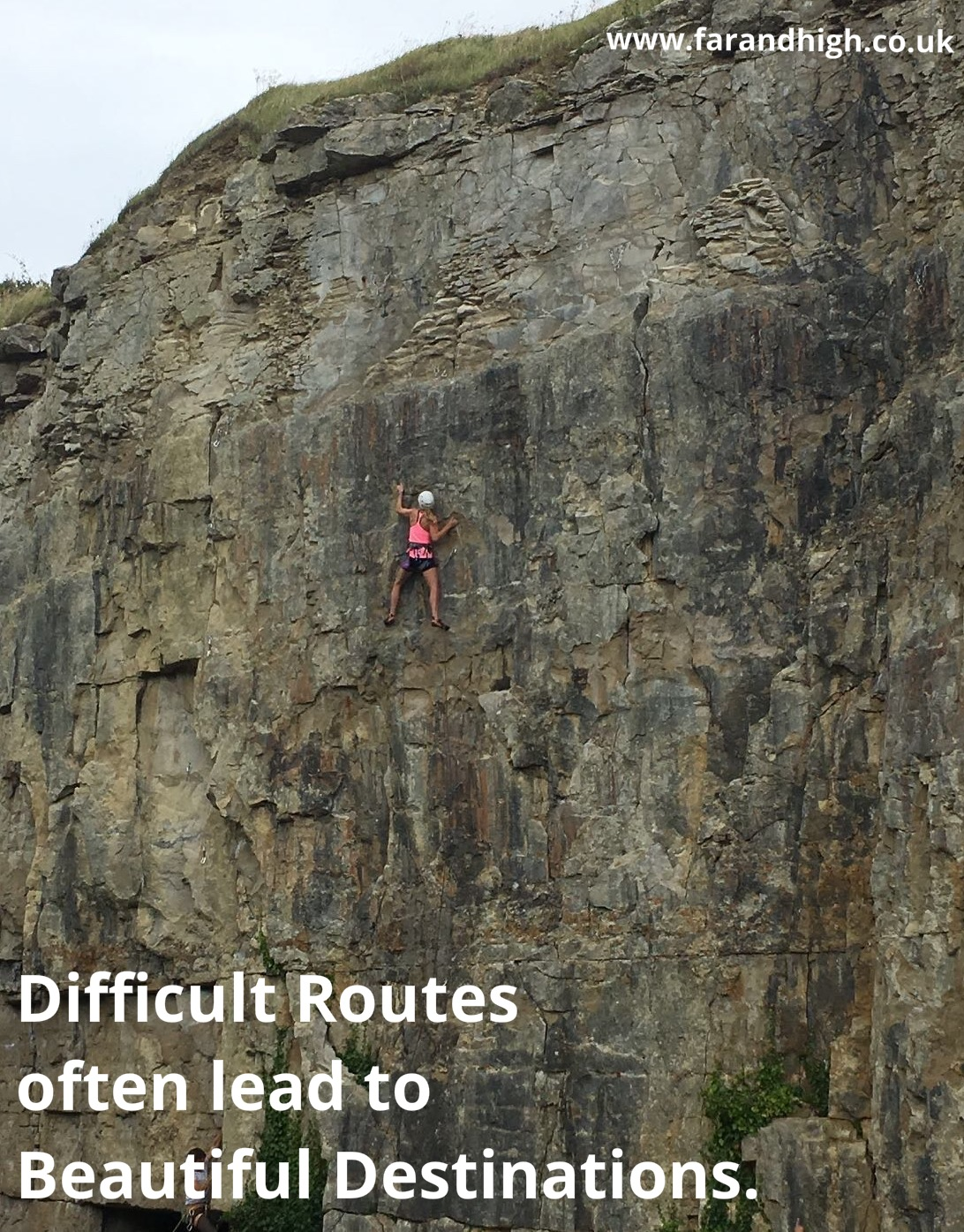 Motivational Quotes Far And High My Adventures In Sport